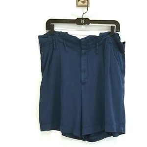 Anthropologie blue Bermuda shorts size 8